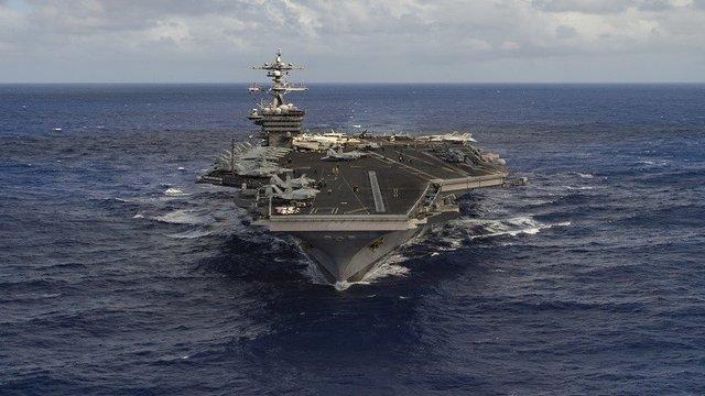 آماده باش کشتیهای آمریکایی برای حمله به سوریه