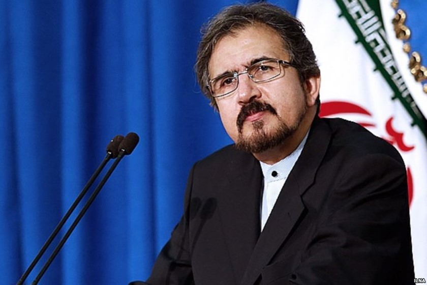 قاسمی در واکنش به بیانیه پایانی اجلاس سران اتحادیه عرب برخی همسایگان جنوبی آب در هاون میکوبند