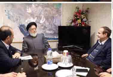 نشست رئیسکل بنیاد شهید، رئیسکل بیمه مرکزی و مدیرعامل بیمه دی