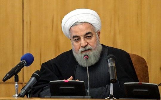 رئیسجمهور در جلسه هیئت دولت: کسی نمیتواند ملت بزرگ ایران را به زانو درآورد