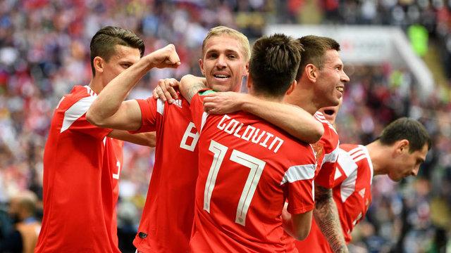 روسیه 5- عربستان صفر تحقیر عجیب عربستان در افتتاحیه جام جهانی!
