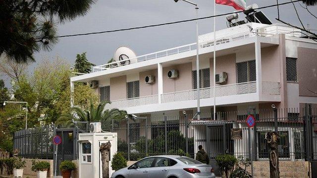 حمله آشوبطلبان به سفارت ایران در یونان