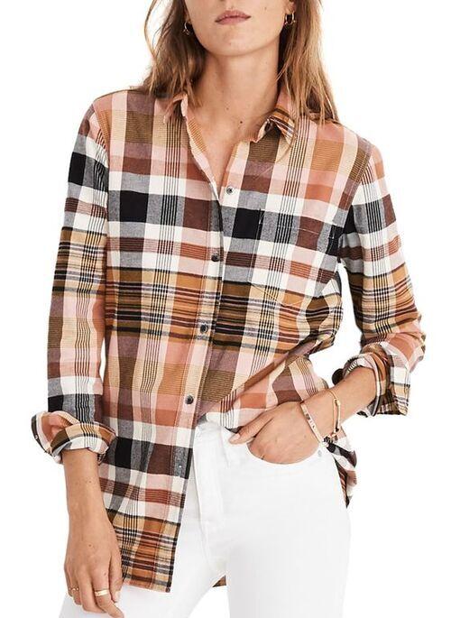 پیراهن چهارخانه زنانه و دخترانه