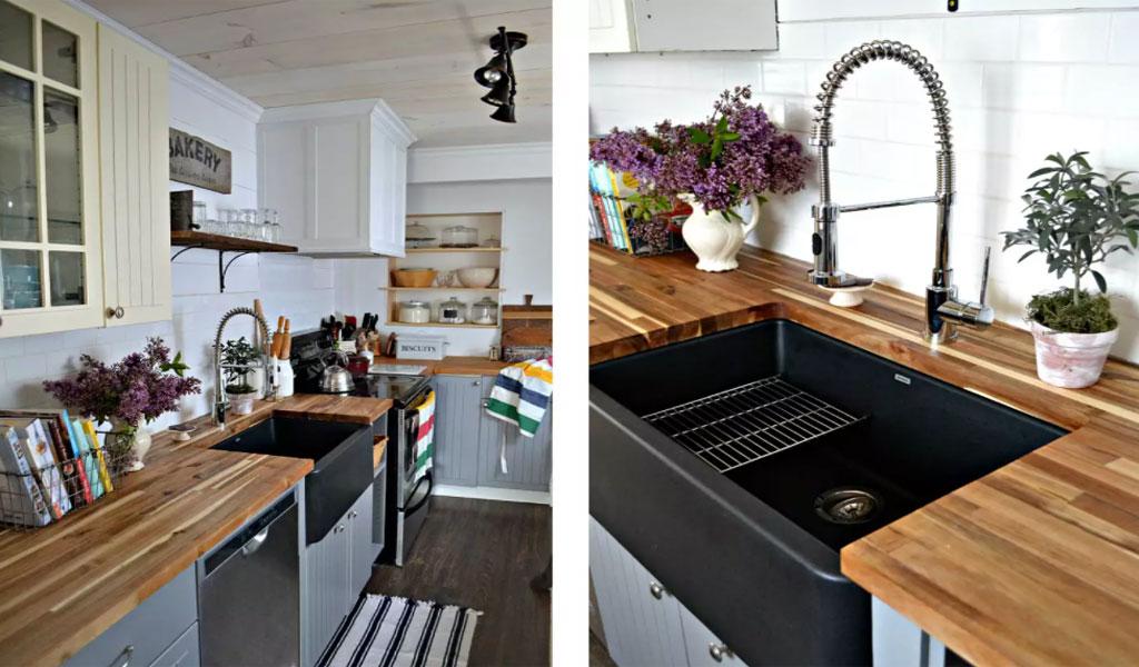 ۲۵ ایده برای طراحی آشپزخانه ای به رنگ سیاه